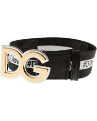 1f51e69201 ... sweden dolce gabbana belts on sale lyst 270d9 7006f