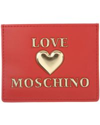 Moschino - Card Holder For Women - Lyst