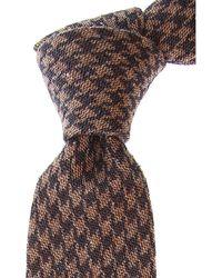 Fefe Cravates Pas cher en Soldes - Marron