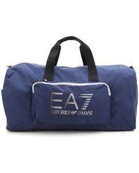 Emporio Armani - Gym Bag Sports For Men On Sale - Lyst 5bc7048963a4e