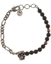 Alexander McQueen Bracelet Homme - Noir