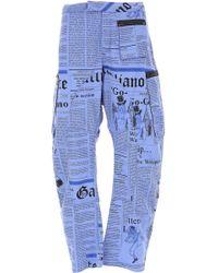 John Galliano - Pants For Men On Sale - Lyst