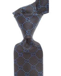 Gucci Cravates Pas cher en Soldes - Noir