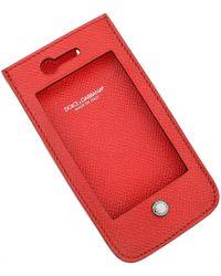 Dolce & Gabbana IPhone Cases Pas cher en Soldes Outlet - Rouge