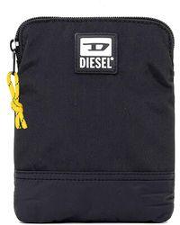 DIESEL Weekender Duffel Bag For Men - Black