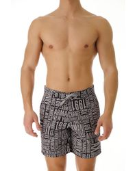 Emporio Armani - Swim Shorts Trunks for Men In Outlet - Lyst