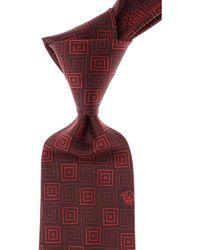 Versace Krawatten Günstig im Sale - Rot