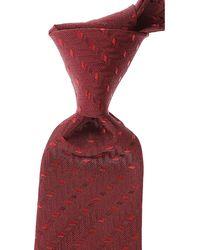 Giorgio Armani Cravates Pas cher en Soldes - Rouge