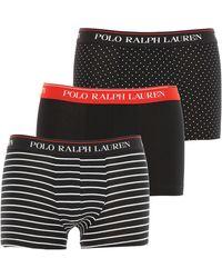 Ralph Lauren Caleçon Boxer Homme - Noir