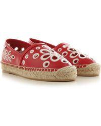 RED Valentino Valentino Garavani Ballet Flats Ballerina Shoes For Women - Red