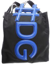 Dolce & Gabbana Bolsos y Maletines Baratos en Rebajas Outlet - Negro
