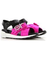 Sergio Rossi Sandalen für Damen Günstig im Sale - Pink