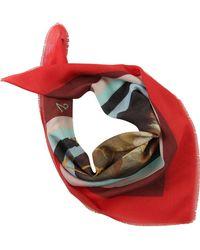 Vivienne Westwood Écharpe Femme Pas cher en Soldes - Rouge