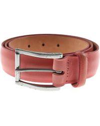 Paul Smith Cinturones para Hombres - Rosa