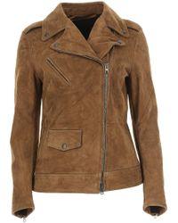 Salvatore Santoro - Leather Jacket For Women On Sale - Lyst
