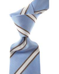 Belvest Ties On Sale - Blue