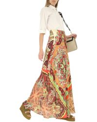 Etro - Falda para Mujer Baratos en Rebajas - Lyst