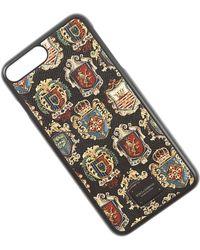 Dolce & Gabbana Fundas iPhone Baratos en Rebajas Outlet - Negro