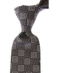 Versace Cravates Pas cher en Soldes - Noir