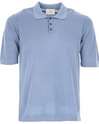 Peuterey Polo Uomo In Outlet - Blu