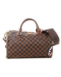 Sprayground Weekender Duffel Bag For Men - Brown