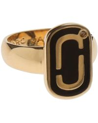 Marc Jacobs Ring For Women - Metallic
