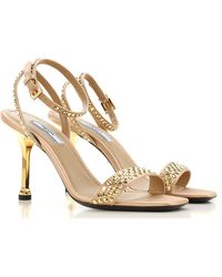 Prada - Sandale Femme Pas cher en Soldes - Lyst