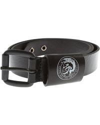DIESEL Cinturones para Hombres Baratos en Rebajas Outlet - Negro