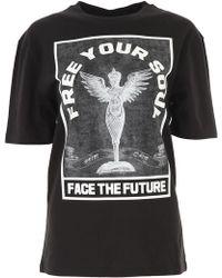 McQ - T-shirt Femme - Lyst