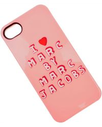 Marc Jacobs IPhone 5 • 5S Baratos en Rebajas - Rosa