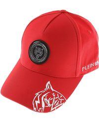 Philipp Plein Sombrero de Hombre - Rojo