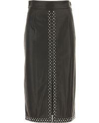 Twin Set Skirt For Women - Black