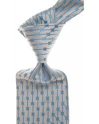 Versace Corbatas Baratos en Rebajas Outlet - Azul