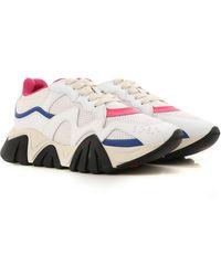 Versace Squalo Trainers - White