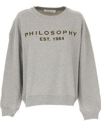 Philosophy Di Lorenzo Serafini - Sweatshirt For Women - Lyst