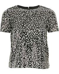 Michael Kors T-Shirts für Damen - Schwarz