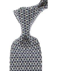 Ferragamo - Cravates Pas cher en Soldes - Lyst