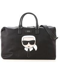 Karl Lagerfeld Bolso de viaje K/Ikonik - Negro