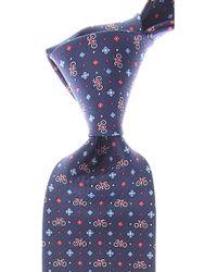 Ferragamo Corbatas Baratos en Rebajas - Azul