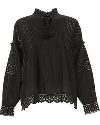 b53673ea77bb Women's Twin Set Long-sleeved tops Online Sale - Lyst