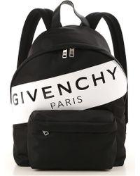 94f538c8dc51 Givenchy Stripe Backpack in Black for Men - Save 0.06289308176100405 ...