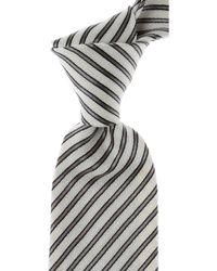 Giorgio Armani Krawatten Günstig im Sale - Grau