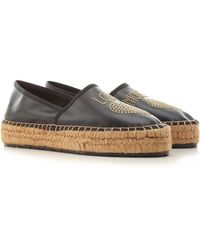 Moschino Slip On Sneakers For Women - Black