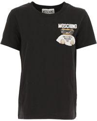 Moschino - T-Shirt Donna In Saldo - Lyst