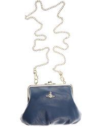 8e91fb6e5bd7 Vivienne Westwood Sharlenemania Large Shoulder Bag in Black - Lyst