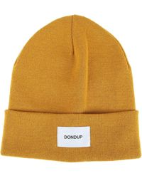 Dondup Hat For Women - Yellow