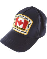 DSquared² Hat For Women - Blue
