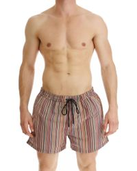 Paul Smith Short de Bain Homme - Multicolore