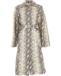 Philosophy Di Lorenzo Serafini Jacket For Women On Sale - Natural