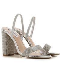 Steve Madden Zapatos de Mujer - Metálico